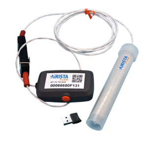 An image of the AiRISTA Flow one-touch temperature sensor