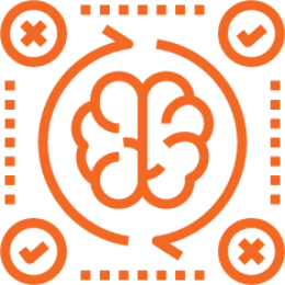 An illustration of a brain image